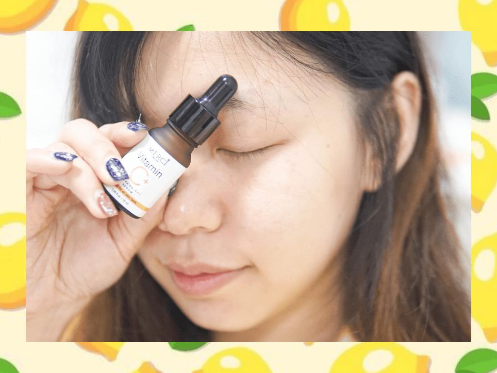 บอกลาจุดด่างดำ ช่วยให้ผิวขาวแบบเร่งด่วนด้วย MERCI Vitamin C Extra Bright Serum