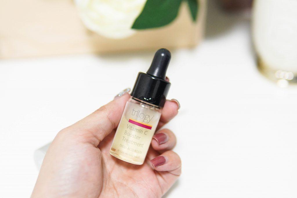 รีวิว Trilogy vitamin c booster treatment & moisturising lotion คู่หูช่วยให้ผิวขาวใสแบบเร่งด่วน !