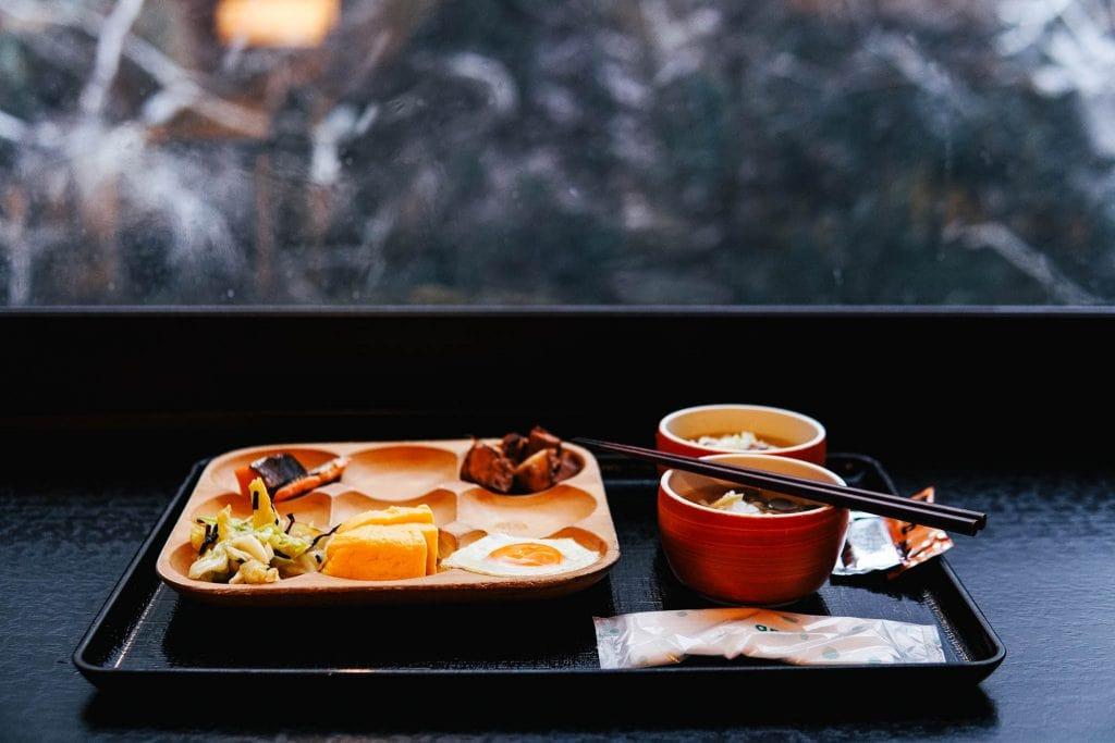 breakfast Shosuke no Yado Takinoyu