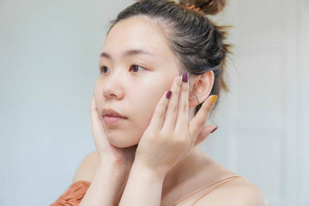 ความรู้สึกหลังใช้ d program acne care