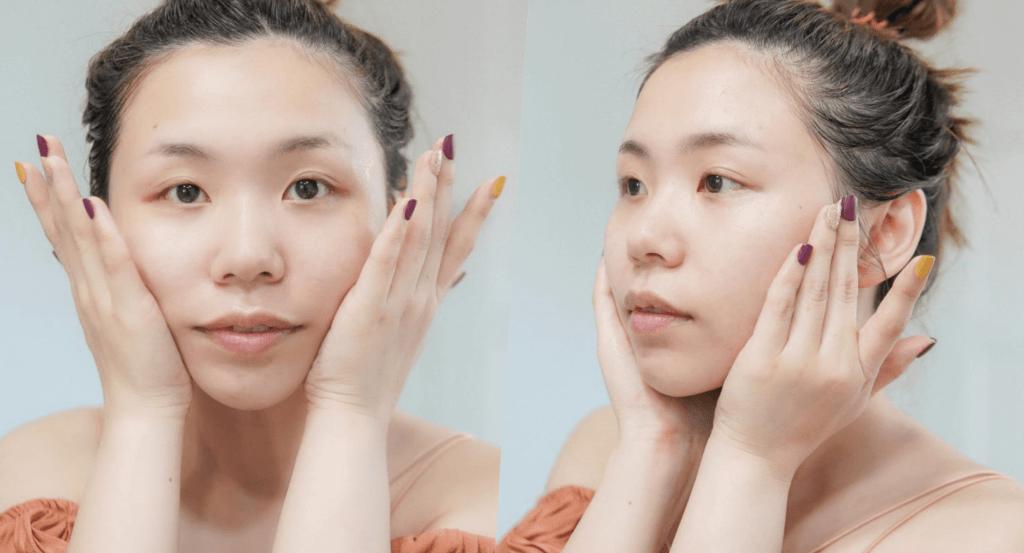 ลงผิวของ d program Acne Care